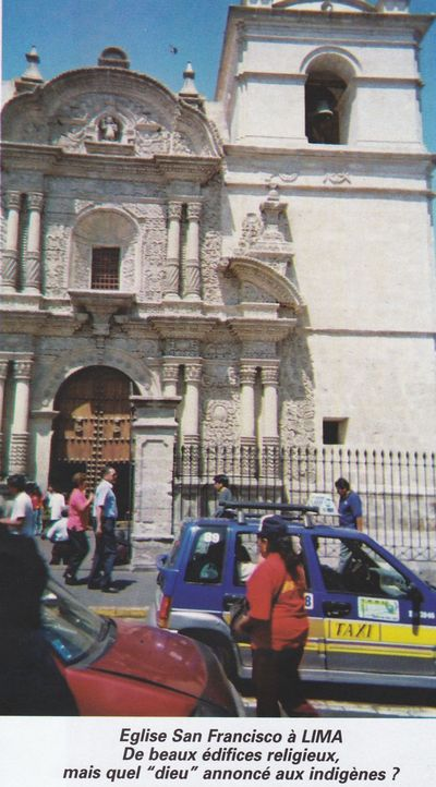 Lima, église San Francisco